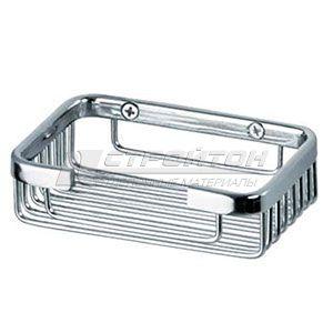 Мыльница монтажная прямоугольная малая металл 1044/2***