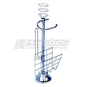 Стойка для санузла напольная + подставка под освежитель воздуха 780 (1)