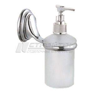 Дозатор для жидкого мыла монтажный, стекло 3183 (20)***