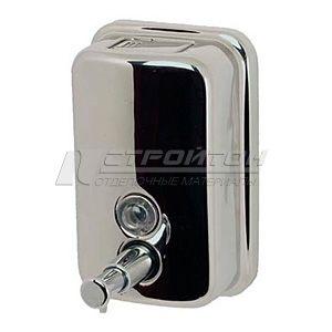 Дозатор для жидкого мыла хромированный 0,5л ТМ 801 (40)***