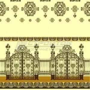 Клеёнка ПВХ ДЕКОМИР (Россия)  _______  1,30м х 20м.  Нетканая основа с плотным покрытием ПВХ.