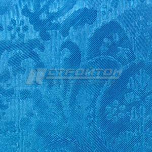 Клеенка ПВХ Шелковый текстиль (Россия)  _____1,37м х 20м.