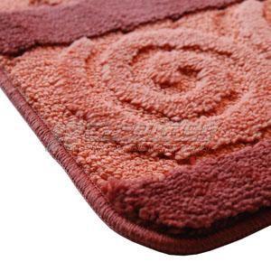 Коврики ворсовые для ванной, люкс,  1 предмет, Serans MAJESTIC, ворс 18мм.