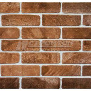 Панель ПВХ Кирпич старый коричневый 1030*500мм (10)