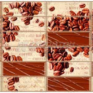 Панель ПВХ Плитка Кофейные зёрна 955*480мм (10)