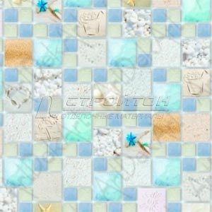 Панель ПВХ Мозаика Лагуна песчаная 955*480 (10) – фото 2