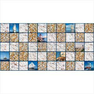 Панель ПВХ Мозаика Море 955*480мм (10) – фото 2