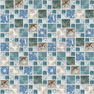 Панель ПВХ Мозаика Морской бриз 955*480мм (10)