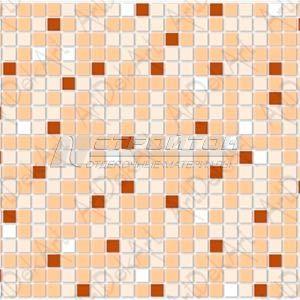 Панель ПВХ Мозаика коричневая 955*480мм (10)