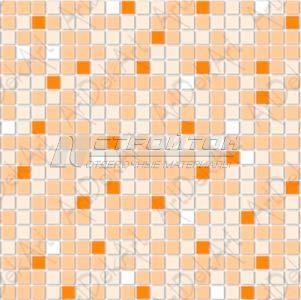 Панель ПВХ Мозаика оранжевая 955*480мм (10)
