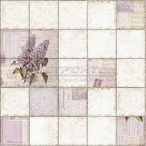 Панель ПВХ Плитка Сирень 964*484мм (10)