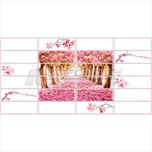 Панель ПВХ Плитка Райский сад 955*480мм (10) – фото 2