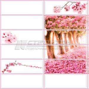 Панель ПВХ Плитка Райский сад 955*480мм (10) – фото 1