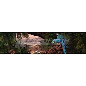 Панель декоративная АВС Пластик Необитаемый остров 2400х600х1,5мм
