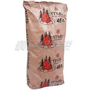 Уголь древесный, 100% береза, карандаш, высший сорт, 45л (6,5кг.) (1)