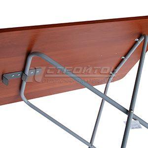 Стол складной FIREWOOD 75х55см, материалы: лдсп, сталь – фото 2
