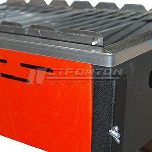 Мангал-гриль 495х325х550мм, Practice OPTIMUM FIREWOOD, сталь 0,7мм 110771