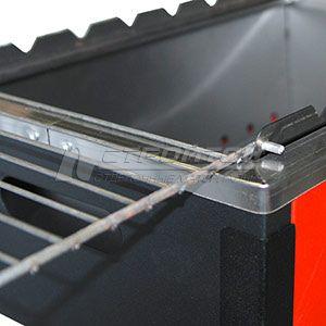 Мангал-гриль 495х325х550мм, Practice OPTIMUM FIREWOOD, сталь 0,7мм 110771 – фото 2