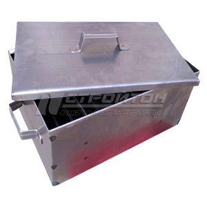 Коптильня двухъярусная ПРЕМИУМ 430х280х190мм, сталь 1,5мм, FIREWOOD 111202