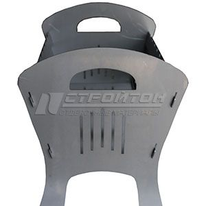 Мангал МR-1 FIRE WOOD 500х510х390мм, сталь 2мм, сумка в к-те. 110742