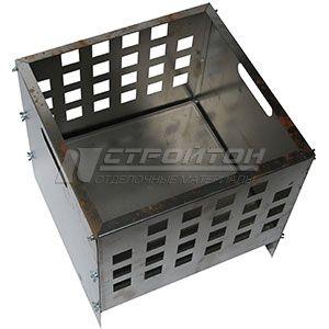 Очаг для костра CUBE FIREWOOD 400х400х400мм, сталь 0,7мм. 110756 – фото 3