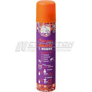 80223 HELP Аэрозоль от комаров и мошек репеллентный 200 мл. /24