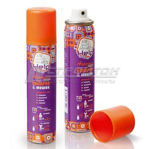 80220 HELP Аэрозоль от комаров и мошек репеллентный 75 мл. /24