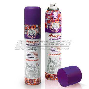 80222 HELP Аэрозоль универсальный от ползающих и летающих насекомых инсектицидный 200мл./24