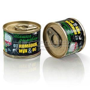 80233 HELP Шашка дымовая от комаров, мух и ос 50г., инсектицидная /50