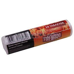 Таблетки для розжига Сухое топливо 10 таблеток FIREWOOD (40)
