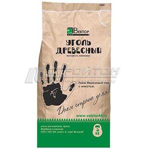 Уголь древесный, 100% береза, карандаш, высший сорт, 25л (3кг.) (1)