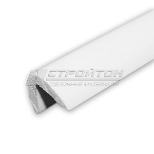 Галтель  12*12  L=2,7м выпуклая наружная белая (50)