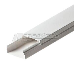 Кабель-канал 40*16мм 2,0м белый (20)