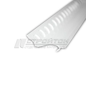 Бордюр под плитку белый 28х30х2000 мм. (25)
