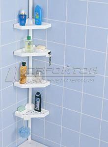 Угловая полка для ванной Prima Nova