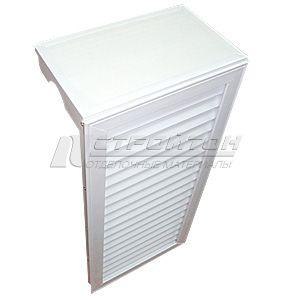 Экран для радиаторов отопления пластиковый, высота 600мм.