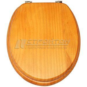 Крышка для унитаза универсальная W408 RUBER натуральное дерево (5) ***