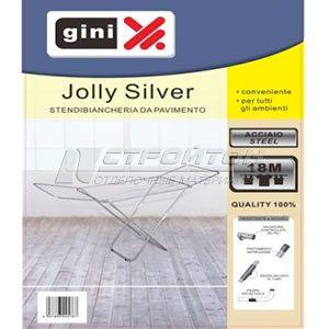 Сушилка для белья напольная GINI JOLLY Silver 18м. (6)