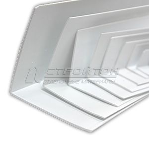 Уголок ПВХ белый 3,0 – фото 5