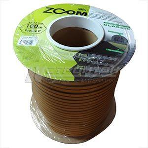 Уплотнитель  ZOOM  P-профиль, коричневый 100м (6)